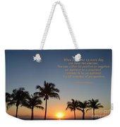 207- Harvey Mackay Weekender Tote Bag