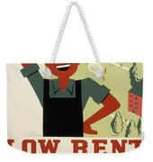 New Deal Wpa Poster Weekender Tote Bag