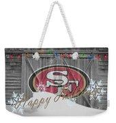 San Francisco 49ers Weekender Tote Bag by Joe Hamilton