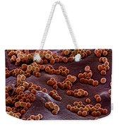 Staphylococcus Aureus Weekender Tote Bag
