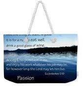 21048 Passion 2 Weekender Tote Bag