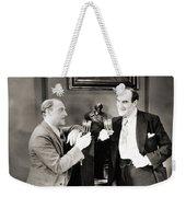 Silent Film Still: Drinking Weekender Tote Bag