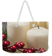 Advent Wreath Weekender Tote Bag