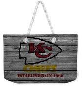 Kansas City Chiefs Weekender Tote Bag