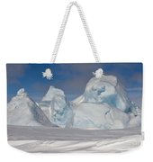 Pack Ice, Antarctica Weekender Tote Bag