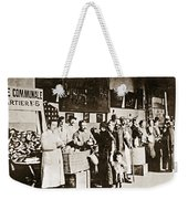 Wwi Refugees, 1918 Weekender Tote Bag