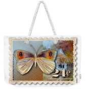 24 Cent Butterfly Stamp Weekender Tote Bag