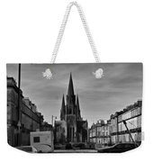 View Of Episcopal Cathedral In Edinburgh Weekender Tote Bag