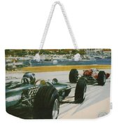 24th Monaco Grand Prix 1966 Weekender Tote Bag