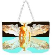 24x36 Reflective Angel Bb Weekender Tote Bag