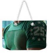 #25 Bicep Color Weekender Tote Bag