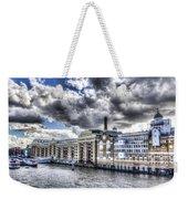 Butlers Wharf London Weekender Tote Bag