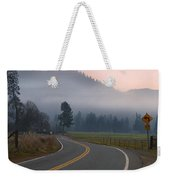 25 Mph At Dusk Weekender Tote Bag