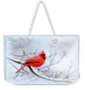 2559-1 Cardinal Weekender Tote Bag