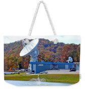 26 West Antenna And Research Building Weekender Tote Bag