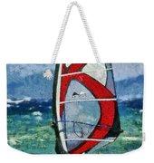 Windsurfing Weekender Tote Bag