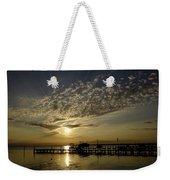 An Outer Banks Of North Carolina Sunset Weekender Tote Bag