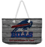 Buffalo Bills Weekender Tote Bag