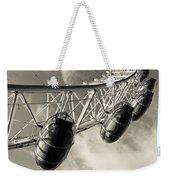 The London Eye Weekender Tote Bag