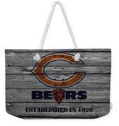 Chicago Bears Weekender Tote Bag by Joe Hamilton