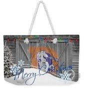 Denver Broncos Weekender Tote Bag by Joe Hamilton