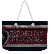 Houston Texans Weekender Tote Bag