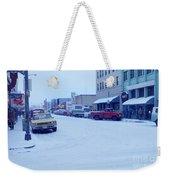 2nd Street Fairbanks Alaska 1969 Weekender Tote Bag
