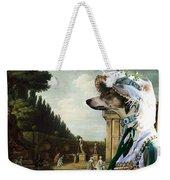 Chart Polski - Polish Greyhound Art Canvas Print Weekender Tote Bag