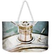 1923 Ford Model T Hood Ornament Weekender Tote Bag by Jill Reger
