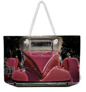 1930 Packard Model 734 Speedster Runabout Weekender Tote Bag