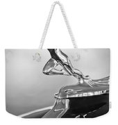 1932 Auburn 12-160 Speedster Hood Ornament Weekender Tote Bag