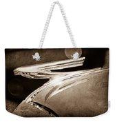 1937 Chevrolet Hood Ornament Weekender Tote Bag