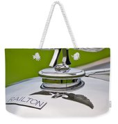 1937 Railton Rippon Brothers Special Limousine Hood Ornament Weekender Tote Bag by Jill Reger