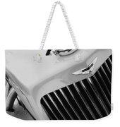 1939 Aston Martin 15-98 Abbey Coachworks Swb Sports Grille Emblem Weekender Tote Bag