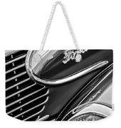 1939 Ford Woody Wagon Side Emblem Weekender Tote Bag