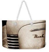 1940 Nash Sedan Grille Weekender Tote Bag