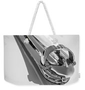1947 Chevrolet Deluxe Hood Ornament Weekender Tote Bag
