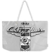 1948 Chrysler Town And Country Sedan Emblem Weekender Tote Bag