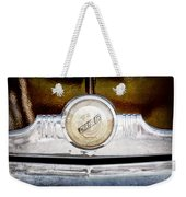 1949 Chrysler Windsor Grille Emblem Weekender Tote Bag