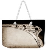 1950 Plymouth Hood Ornament Weekender Tote Bag