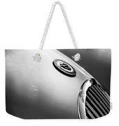1951 Jaguar Grille Emblem Weekender Tote Bag by Jill Reger