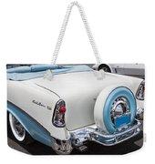 1956 Chevrolet Bel Air Convertible Weekender Tote Bag