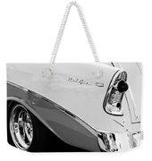1956 Chevrolet Belair Nomad Taillight Emblem Weekender Tote Bag