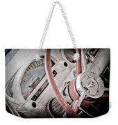 1956 Ford Thunderbird Steering Wheel Weekender Tote Bag