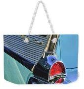 1957 Chevrolet Belair Taillight Weekender Tote Bag