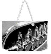 1957 Chevrolet Corvette Grille Weekender Tote Bag