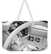 1957 Chevrolet Corvette Steering Wheel Emblem Weekender Tote Bag