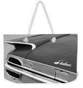 1960 Ford Galaxie Starliner Taillight Emblem Weekender Tote Bag