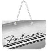 1963 Ford Falcon Futura Convertible   Emblem Weekender Tote Bag