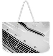 1963 Ford Falcon Futura Convertible Hood Emblem Weekender Tote Bag